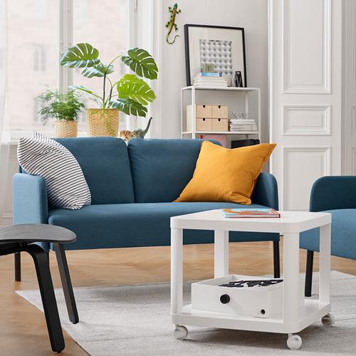 GLOSTAD - sofa 2 dudukan, Knisa biru medium | IKEA Indonesia - PE817503_S4