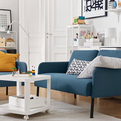 GLOSTAD - sofa 2 dudukan, Knisa biru medium | IKEA Indonesia - PE817504_S4