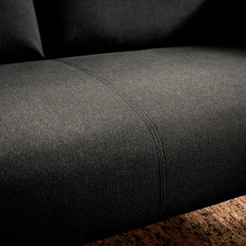 GLOSTAD - sofa 2 dudukan, Knisa abu-abu tua   IKEA Indonesia - PE817519_S4