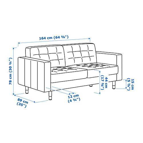 LANDSKRONA sofa 2 dudukan