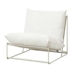 HAVSTEN - Easy chair, in/outdoor, beige