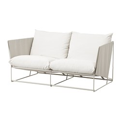 HAVSTEN - 2-seat sofa, in/outdoor, beige