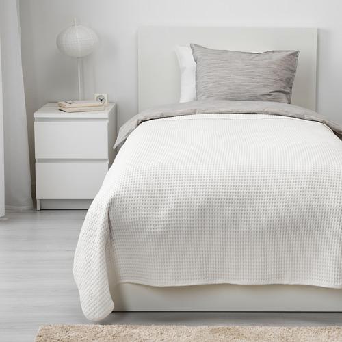 VÅRELD - penutup tempat tidur , putih, 150x250 cm | IKEA Indonesia - PE640078_S4