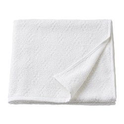 NÄRSEN - Bath towel, white