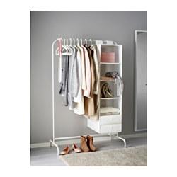 MULIG - Clothes rack, white