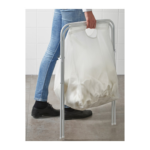 JÄLL laundry bag with stand