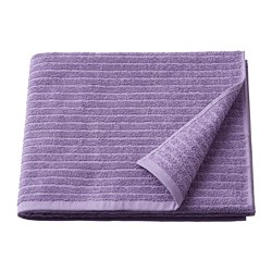 VÅGSJÖN - Bath towel, purple
