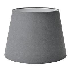 SKOTTORP - Lamp shade, grey, 42 cm