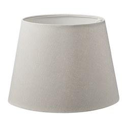 SKOTTORP - Lamp shade, light grey