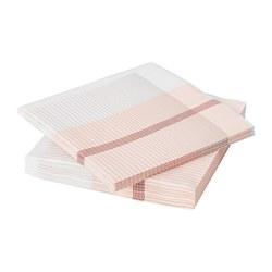 LYSKRAFT - Paper napkin, red