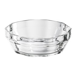 LYSKRAFT - Bowl, clear glass
