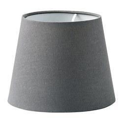 SKOTTORP - SKOTTORP, kap lampu, abu-abu, 19 cm