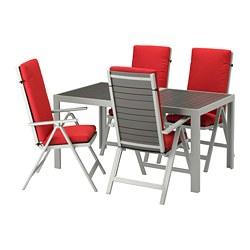 SJÄLLAND - Meja+4 kursi recliner, l.ruang