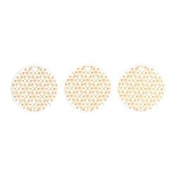 VINTER 2020 - Hanging decoration, white/snowflake pattern gold-colour