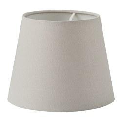 SKOTTORP - SKOTTORP, kap lampu, abu-abu muda, 19 cm