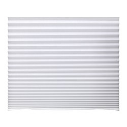SCHOTTIS - Pleated blind, white