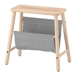 VILTO - Storage stool, birch