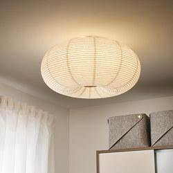RISBYN - Lampu plafon LED, putih