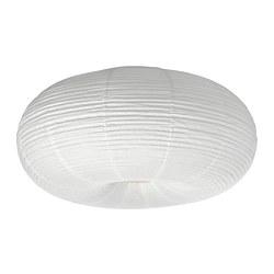 RISBYN - RISBYN, lampu plafon LED, putih, 50 cm