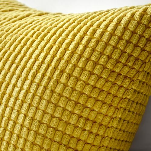GULLKLOCKA - sarung bantal kursi, kuning, 50x50 cm | IKEA Indonesia - PE566831_S4