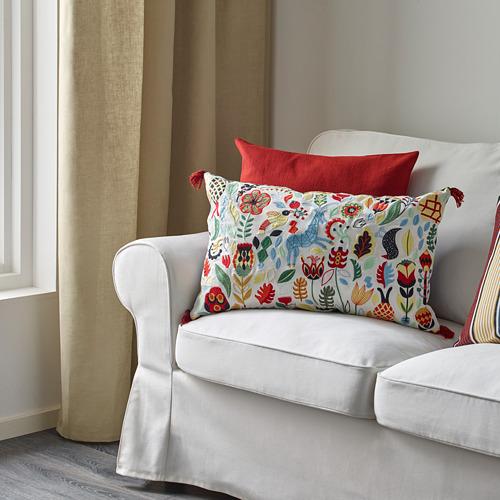 RÖDARV - cushion, multicolour, 40x65 cm   IKEA Indonesia - PE597147_S4
