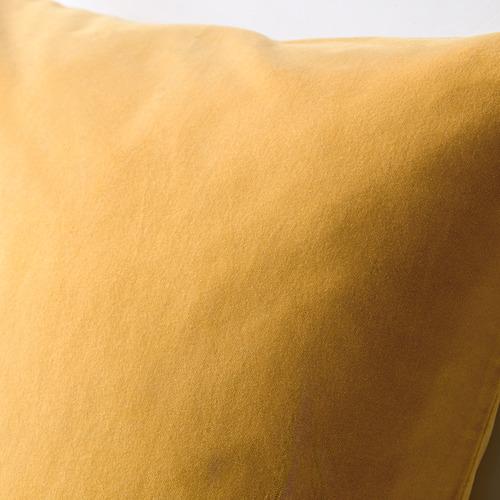 SANELA - sarung bantal kursi, emas-cokelat, 50x50 cm | IKEA Indonesia - PE633590_S4