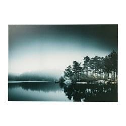 PJÄTTERYD - Picture, grey lake