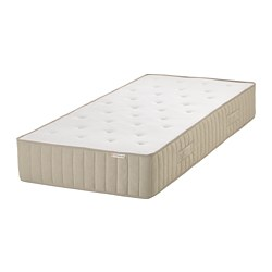 VATNESTRÖM - Pocket sprung mattress, extra firm/natural, 120x200 cm