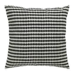 STOCKHOLM - Bantal kursi, hitam/putih
