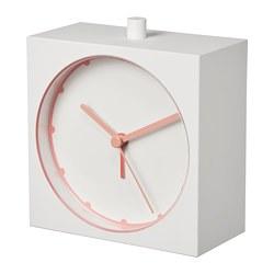 BAJK - Alarm clock, white