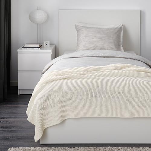 INGABRITTA - throw, off-white, 130x170 cm | IKEA Indonesia - PE631988_S4