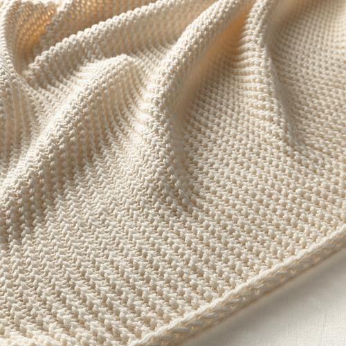 INGABRITTA - throw, off-white, 130x170 cm | IKEA Indonesia - PE631990_S4