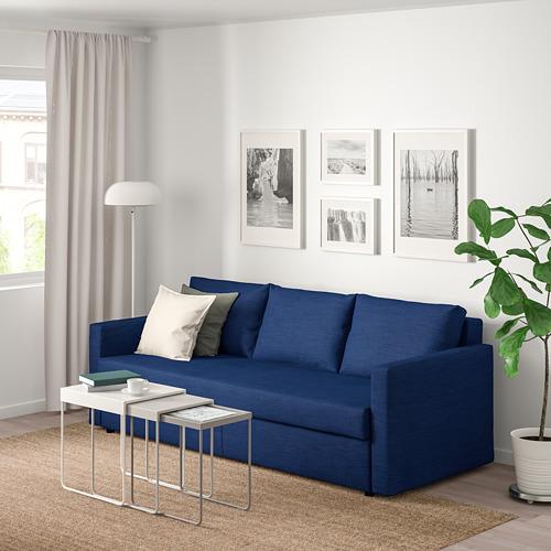 FRIHETEN sofa tempat tidur 3 dudukan