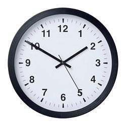 TJALLA - Wall clock, black