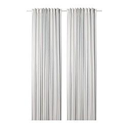 ÄDELSPINNARE - Gorden, 1 pasang, putih/garis-garis