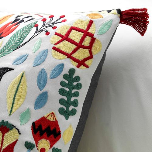 RÖDARV - cushion, multicolour, 40x65 cm   IKEA Indonesia - PE597149_S4