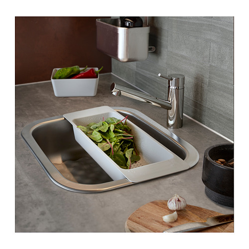 FYNDIG inset sink, 1 bowl