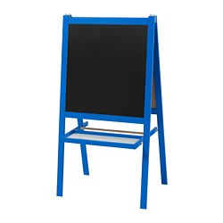 MÅLA - Easel, dark blue