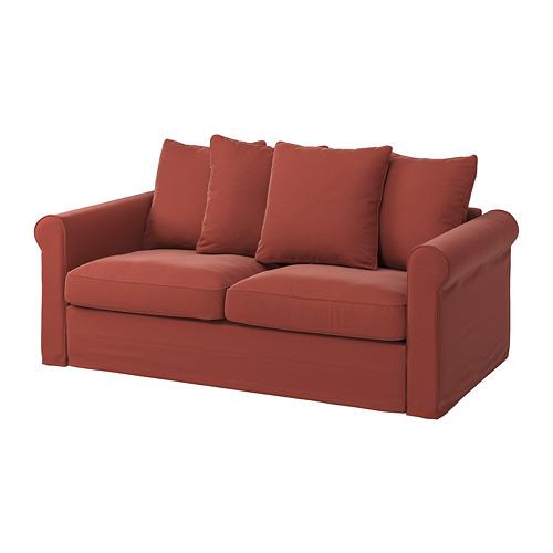 GRÖNLID - sarung sofa tmpt tidur 2 dudukan, Ljungen merah cerah | IKEA Indonesia - PE782200_S4