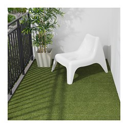RUNNEN - Floor decking, outdoor, artificial grass