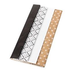 GIVANDE - Tissue paper, black natural/white