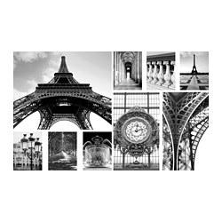 GRÖNBY - Gambar, set isi 9, A day in Paris