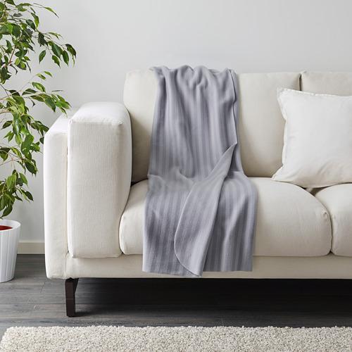 VITMOSSA - throw, grey, 120x160 cm | IKEA Indonesia - PE603122_S4