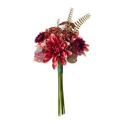 SMYCKA - Artificial bouquet, in/outdoor Dahlia