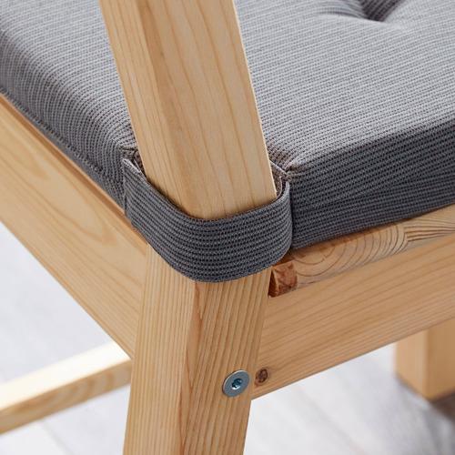 JUSTINA - alas kursi, abu-abu, 42/35x40x4 cm | IKEA Indonesia - PE566913_S4