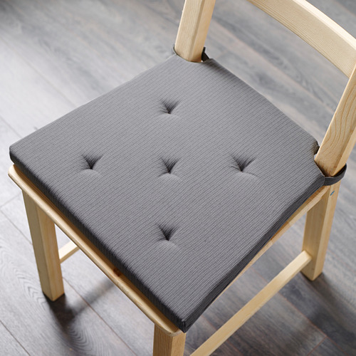 JUSTINA - alas kursi, abu-abu, 42/35x40x4 cm | IKEA Indonesia - PE567158_S4