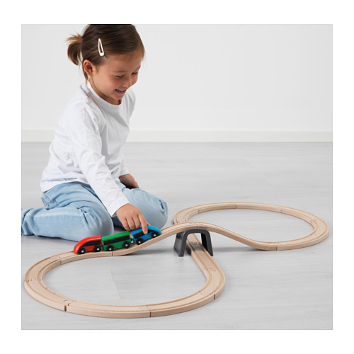 LILLABO 20-piece basic train set