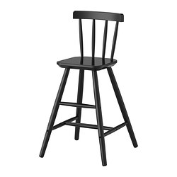 AGAM - Junior chair, black