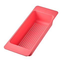 GRUNDVATTNET - Colander, light red