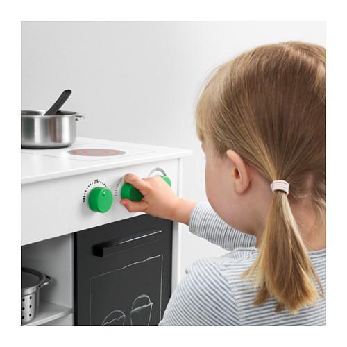 NYBAKAD dapur mainan dengan pintu geser